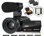 Video Camera 4K Camcorder AiTechny Ultra HD Digital WiFi Camera 48MP
