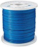 Tripp Lite Cat6 Gigabit Bulk Solid PVC Cable Blue, 1000-ft.(N222-01K-BL)