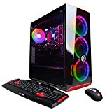 CYBERPOWERPC Gamer Xtreme VR GXiVR8060A5 Gaming PC (Intel i5-8400 2.8GHz, 8GB DDR4, NVIDIA GeForce GTX 1060 3GB, 120GB SSD, 1TB HDD, WiFi & Win 10) Black